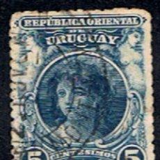 Sellos: URUGUAY // YVERT 154 A) // 1900-10 ... USADO. Lote 288217918