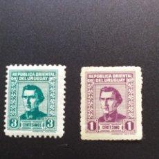 Sellos: ## URUGUAY NUEVO 1953 ARTIGAS 2 SELLOS##. Lote 288327248