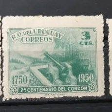 Sellos: URUGUAY,1950,CAT.YT.599/601. Lote 289232123