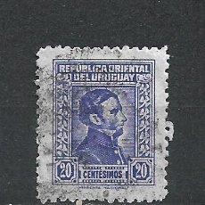 Sellos: URUGUAY SELLO USADO - 15/63. Lote 289561463