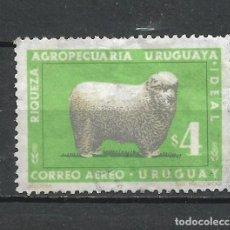 Sellos: URUGUAY SELLO USADO - 15/63. Lote 289561588