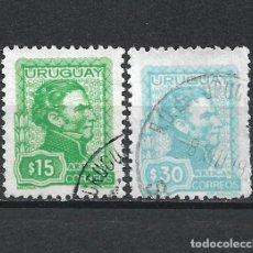 Sellos: URUGUAY SELLO USADO - 15/63. Lote 289561648