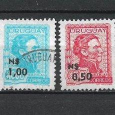 Sellos: URUGUAY SELLO USADO - 15/63. Lote 289561708