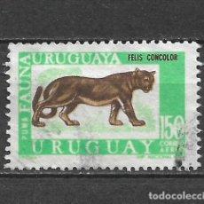 Sellos: URUGUAY SELLO USADO - 8/7. Lote 292284123