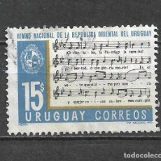 Sellos: URUGUAY SELLO USADO - 8/7. Lote 292284128
