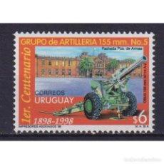 Sellos: UY2374 URUGUAY 1998 MNH THE 100TH ANNIVERSARY OF FIFTH ARTILLERY BATALLION. Lote 293399228
