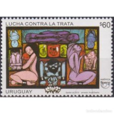 Sellos: UY3462 URUGUAY 2015 MNH AMERICA UPAEP - FIGHT AGAINST HUMAN TRAFFICKING. Lote 293405838