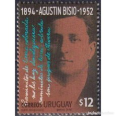 Sellos: UY2679 URUGUAY 2002 MNH THE 50TH ANNIVERSARY OF THE DEATH OF AGUSTIN BISIO. Lote 293407798