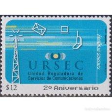 Sellos: UY2716 URUGUAY 2003 MNH THE 20TH ANNIVERSARY OF URSEC. Lote 293407953