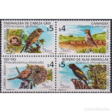 Sellos: UY2560 URUGUAY 2000 MNH INTERNATIONAL STAMP EXHIBITION ESPANA 2000 - BIRDS. Lote 293408793
