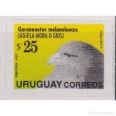 Sellos: UY2851-1 URUGUAY 2005 MNH BIRD - AGUILA MORA. Lote 293410063