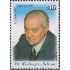Sellos: UY2939 URUGUAY 2006 MNH THE 3RD ANNIVERSARY OF THE DEATH OF WASHINGTON BELTRAN. Lote 293410168