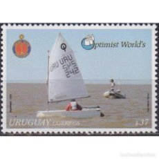 Sellos: UY2958 URUGUAY 2006 MNH WORLD CHAMPIONSHIP FOR THE OPTIMIST SAILING DINGHY CLASS. Lote 293410223