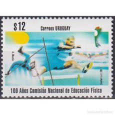 Sellos: UY3160 URUGUAY 2011 MNH THE 100TH ANNIVERSARY OF THE NATIONAL COMMISSION FOR PHYSICAL EDUCATION. Lote 293407683