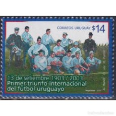 Sellos: UY2754 URUGUAY 2003 MNH THE 100TH ANNIVERSARY OF THE FIRST INTERNATIONAL TRIUMPH. Lote 293409503