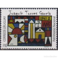 Sellos: UY2832 URUGUAY 2004 MNH THE 130TH ANNIVERSARY OF THE BIRTH OF JOAQUIN TORRES GARCIA. Lote 293409823