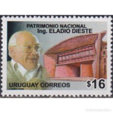 Sellos: UY2933 URUGUAY 2006 MNH THE 6TH ANNIVERSARY OF THE DEATH OF ELADIO DIESTE. Lote 293410148
