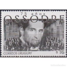 Sellos: UY2925 URUGUAY 2006 MNH THE 75TH ANNIVERSARY OF THE STATE SYMPHONY ORCHESTRA OSSODRE. Lote 293410163