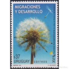 Sellos: UY2940 URUGUAY 2006 MNH SUMMIT OF LATIN AMERICAN LEADERS ON POPULATION MIGRATION AND DEVELOPMENT. Lote 293410213