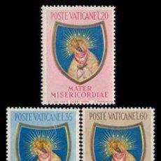 Sellos: VATICANO 1954 207/09 CLAUSURA AÑO MARIANO 3V.. Lote 4354650