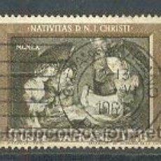 Sellos: VATICANO. NAVIDAD 1960. OBRA DE GHERARDO DELLE NOTTI. IVERT Nº 311, USADO. Lote 4643927