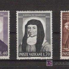 Sellos: VATICANO - AÑO 1960 - III CENT. MUERTE SAN VICENTE DE PAUL Y STA. LUISA DE MARILLAC***. Lote 14760440
