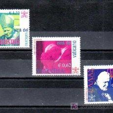 Sellos: VATICANO 1279/81 SIN CHARNELA, VIAJES DEL PAPA JUAN PABLO II POR EL MUNDO, . Lote 11147246