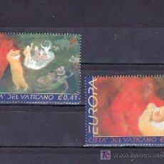 Sellos: VATICANO 1270/1 SIN CHARNELA, TEMA EUROPA 2002, EL CIRCO. Lote 10126245
