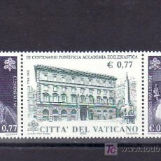 Sellos: VATICANO 1260/2 SIN CHARNELA, 3º CENTENARIO DE LA ACADEMIA ECLECIASTICA PONTIFICIA. Lote 77081635