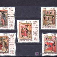 Sellos: VATICANO 1237/41 SIN CHARNELA, CONDONACION DE LA DEUDA EXTERIOR A LOS PAISES POBRES, . Lote 10126538