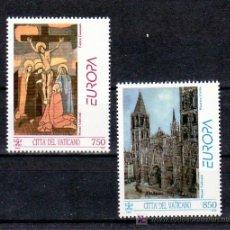 Sellos: VATICANO 959/60 SIN CHARNELA, TEMA EUROPA 1993, ARTE CONTEMPORANEO, . Lote 10133433