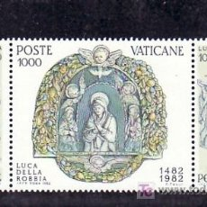 Sellos: VATICANO 728/30 SIN CHARNELA, ESCULTURA, V CENTENARIO DEL ESCULTOR LUCA DELLA ROBBIA. Lote 10135192
