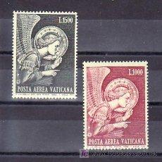 Sellos: VATICANO AEREO 53/4 SIN CHARNELA, ANGEL ANUNCIACION, . Lote 10120793