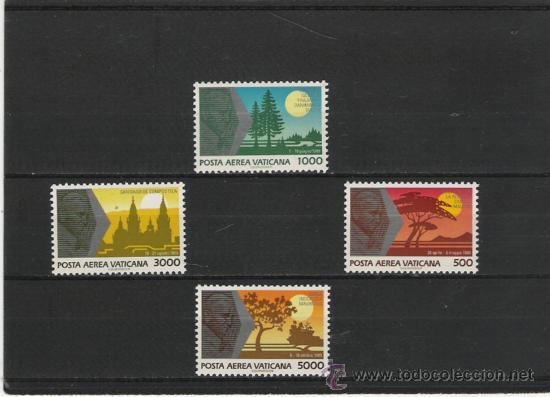 VATICANO SELLOS DE LA SERIE AEREA COMPLETA 88/91 (Sellos - Extranjero - Europa - Vaticano)