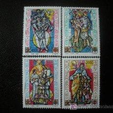 Sellos: VATICANO 1994 IVERT 980/3 *** AÑO INTERNACIONAL DE LA FAMILIA - VIDRIERAS. Lote 20875938