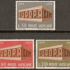 Selos: VATICANO YVERT NUM. 488/90 NUEVOS SIN FIJASELLOS. Lote 121195182