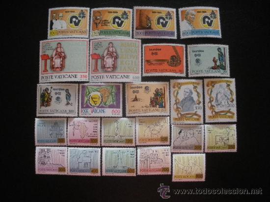 VATICANO 1981 IVERT 702/725 *** AÑO COMPLETO (Sellos - Extranjero - Europa - Vaticano)