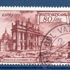 Sellos: VATICANO.- YVERT Nº 12, CORREO EXPRESS EN USADO (VAT-36). Lote 32878454