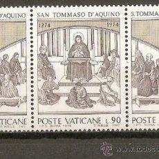 Selos: VATICANO YVERT NUM. 576/8 SERIE COMPLETA NUEVOS SIN FIJASELLOS. Lote 145567768