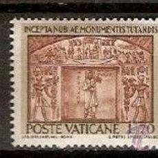 Sellos: SELLOS VATICANO YVERT 397 A 400 AÑO 1964 PROTECCION DE LOS MONUMENTOS DE NUBIA SERIE INCOMPLETA 0. Lote 36925361