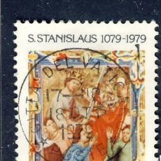 Sellos: VATICANO 1979 SELLOS CONMEMORATIVO S. STANISLAUS 1079- 1979. Lote 38673693