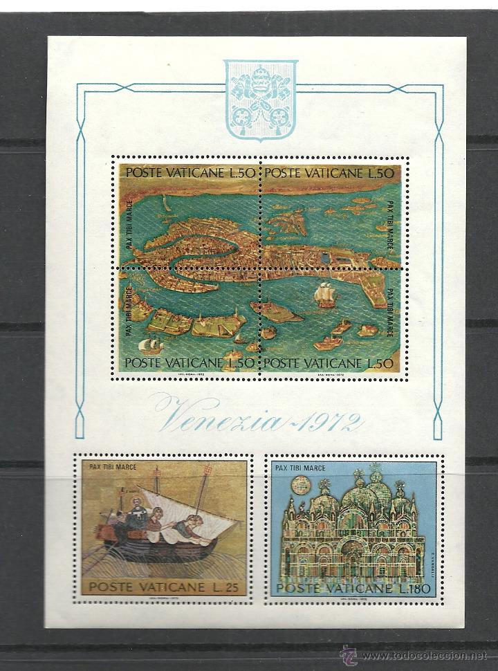 VATICANO 1982 YVERT HOJITA Nº 3 HB**, UNESCO, SALVEMOS VENECIA (Sellos - Extranjero - Europa - Vaticano)