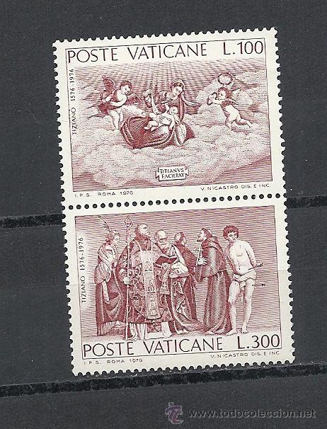 VATICANO, YVERT Nº 611/612**. (Sellos - Extranjero - Europa - Vaticano)