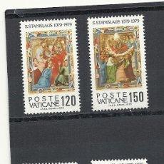 Sellos: VATICANO 1979 YVERT Nº 669/72**, MARTIRIO DE SAN ESTANISLAO. Lote 40012777