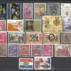 Sellos: 3425-LOTE SELLOS VATICANO PRINCIPADO,IGLESIA,SIN TASAR,SIN REPETIDOS.BONITOS. Lote 42905901