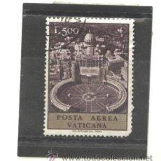 Sellos: VATICANO , CIUDAD DEL 1967 - YVERT NRO. 52 PA - USADO. Lote 42908829