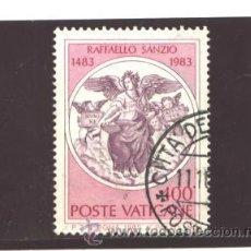 Sellos: VATICANO, CIUDAD DEL 1983- YVERT NRO. 744 - USADO. Lote 42943286