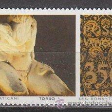 Sellos: VATICANO IVERT 643, ESCULTURAS GRIEGAS DEL MUSEO DEL VATICANO, TORSO, NUEVO. Lote 43569412