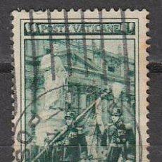 Sellos: VATICANO IVERT 159, CENTENARIO DE LA GUARDIA PALATINA DE HONOR, USADO. Lote 43683417