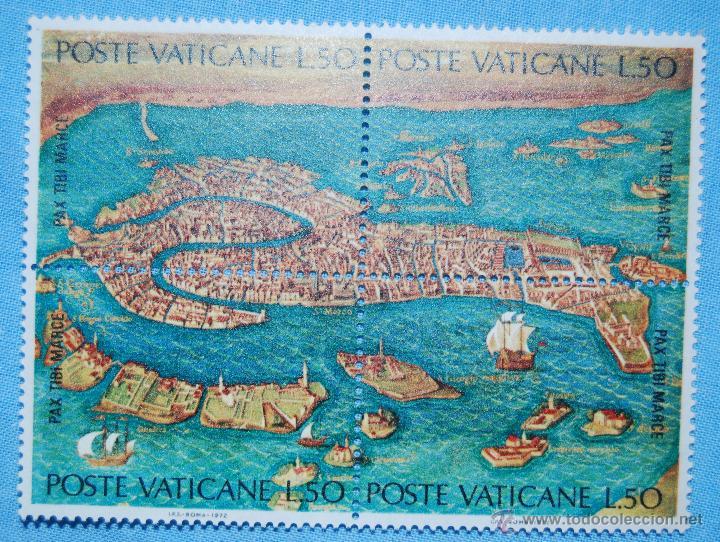 Sellos: SELLOS POSTE VATICANE SALVAD VENECIA PAX TIBI MARCE AÑO 1972 - Foto 2 - 63027750